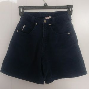 Vintage Bongo High-waisted shorts